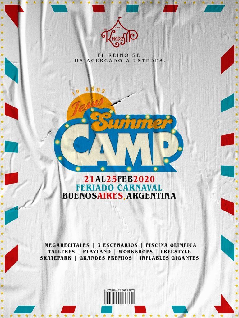 Jesus Summer Camp #JSC10AÑOS (21 al 25 de Febrero, 2020)
