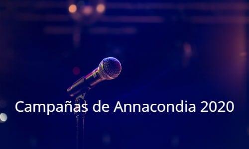Carlos Annacondia: Campañas 2020