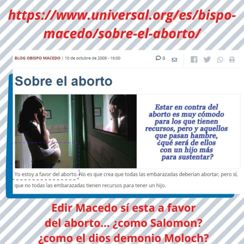 ¿La IURD a favor del aborto? Sí, así de sencillo